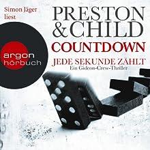Countdown: Jede Sekunde zählt (Gideon Crew 2) Hörbuch von Douglas Preston, Lincoln Child Gesprochen von: Simon Jäger