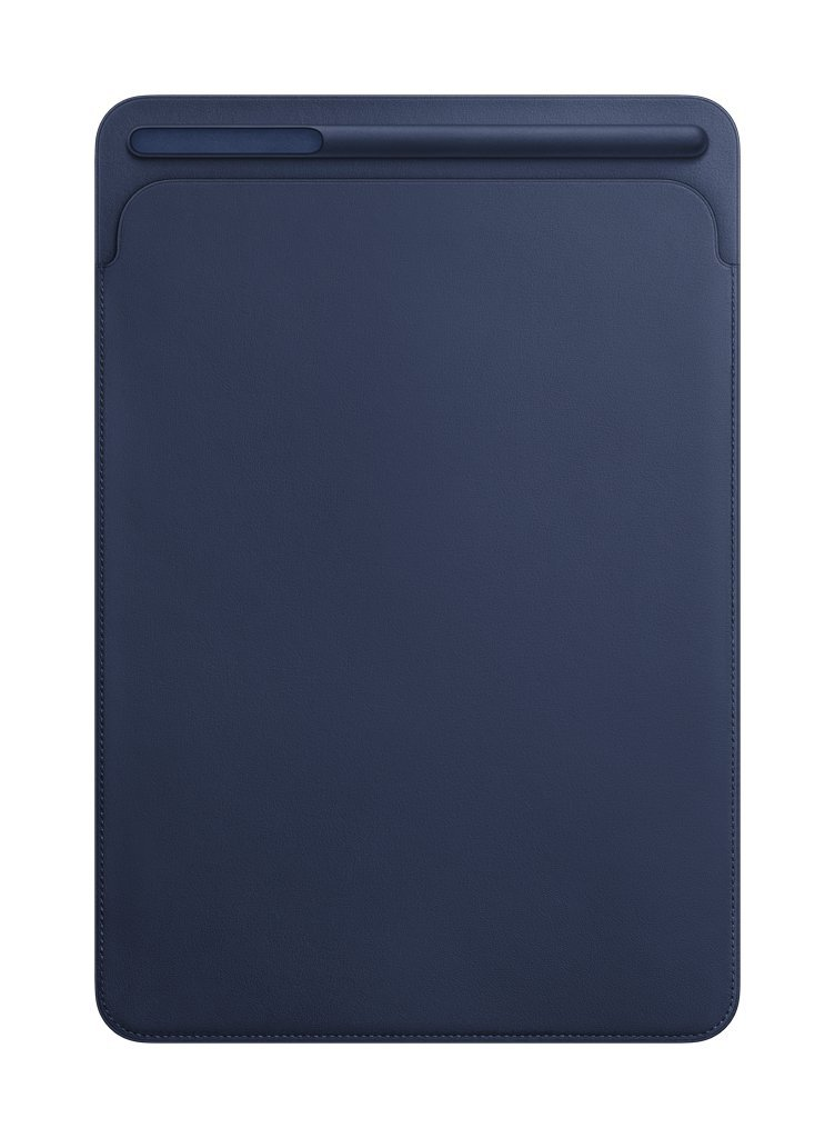 애플 Apple Leather Sleeve (for iPad Pro 105-inch) - Midnight Blue