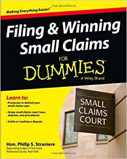 small claims court case studies Small claims court is a legal court of law designed to resolve disputes involving small amounts of money in an expeditious manner unlike other legal courts.