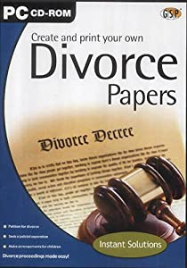 Write my own divorce papers