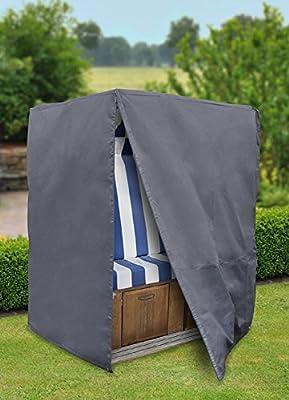 Reissfeste und wasserdichte Schutzhülle für Strandkörbe aus 420D Polyester Absolut UV Beständig von günstig-shoppen24 bei Gartenmöbel von Du und Dein Garten