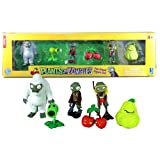 Jazwares Year 2012 PopCap Plants vs. Zombies Video Game Series 6 Pack 2 Inch Tall Figures - Yeti Zombie, Peashooter... フィギュア ダイキャスト 人形(並行輸入)