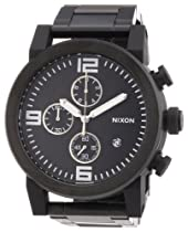 Nixon A347-1001 Mens RIDE SS Chronograph Black Watch