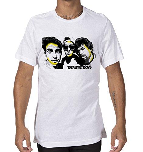 Giallo Bus - T-shirt - Beastie Boys - facce -
