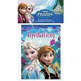Disney Frozen Invitations [8 Invitations Per Pack]