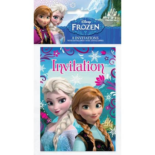 Disney Frozen Invitations [8 Invitations Per Pack] - 1