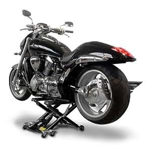 Bequille d'Atelier Cric Moto Hydraulique Lift ConStands XL noir
