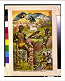 Historic Print (L): African superstitions illustrated