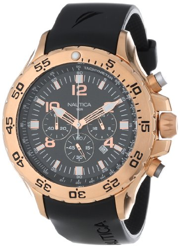 Nautica Men's N18523G NST Chronograph Watch