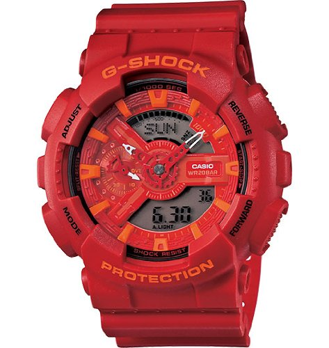 Price List For G-SHOCK Men's GA-110 Watch One Size Red