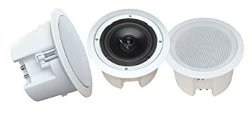 "Pyle PDPC82 IN CEILING SPEAKERS 8"" PYLE HOME;*PAIR*;SEALED BACK;250W"