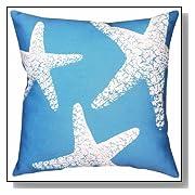 Starfish Square Decorative Throw Pillow