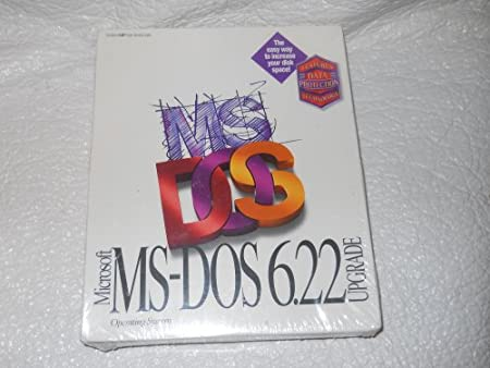 Microsoft Ms-dos 6.22 Upgrade Operating System