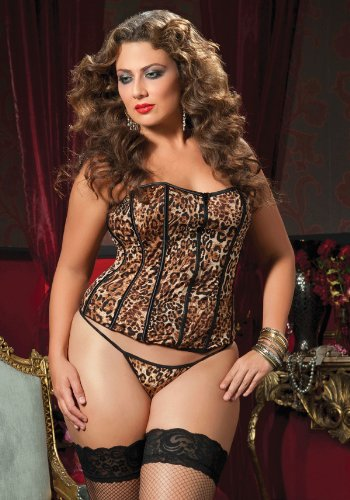 Basic Instinct Corset And Thong (Non-Packaged)
