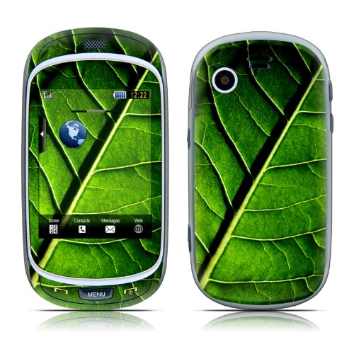 Green Leaf Design Protective Skin Decal Sticker For Samsung Gravity Touch Sgh T669 Cell Phone
