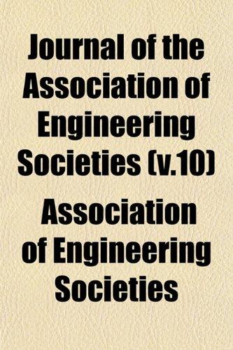 Journal of the Association of Engineering Societies (v.10)