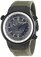 Salvatore Ferragamo Men's FQ2010013 F-80 Black Ion-Plated Stainless Steel Watch from Salvatore Ferragamo