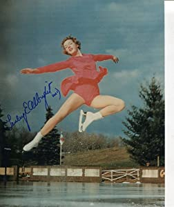 * TENLEY ALBRIGHT * signed 1956 Winter Olympics 8x10