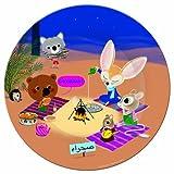 Assiette 20 cm - Mouk au Sahara