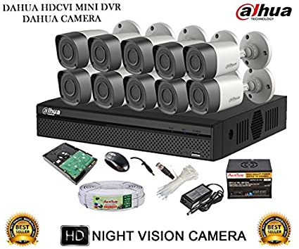 Dahua-DH-HCVR4116HS-S2-16CH-Dvr,-10(DH-HAC-HFW1000RP-0360B)-Bullet-Camera-(With-Accessories,2TB-HDD)