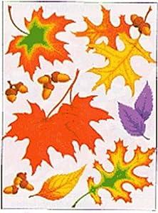 Eureka Eu-836550 Window Cling Fall Leaves 12 X 17 by EUREKA