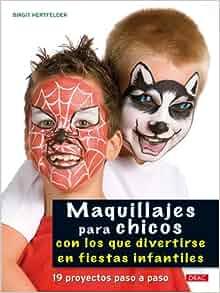 Maquillajes para Chicos: con los que Divertirse en Fiestas Infant Iles