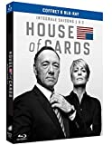 Image de House of Cards - Intégrale saisons 1 et 2 [Blu-ray + Copie digitale]