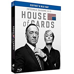 House of Cards - Intégrale saisons 1 et 2 [Blu-ray + Copie digitale]