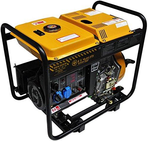 Generador el ctrico 6kw diesel grupo electr geno - Precios generadores electricos ...