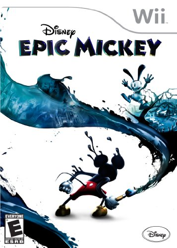 Disney Epic Mickey - Nintendo Wii back-990922