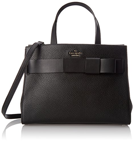 kate spade new york Poplar Street Shelley Satchel Bag, Black, One Size