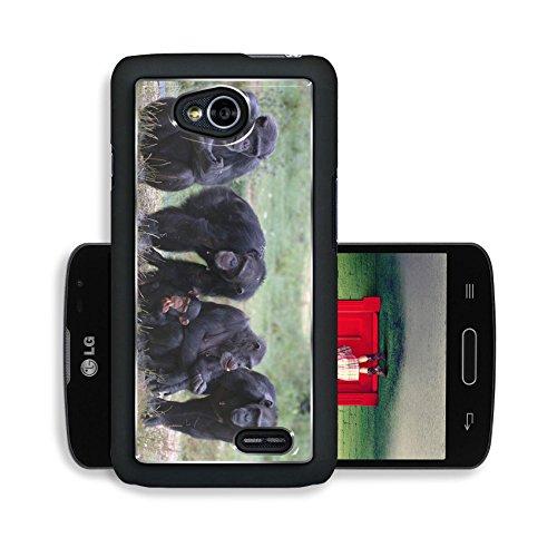 Luxlady Premium LG Optimus L70 Dual Aluminium Snap Case When Monkey s Go Bad IMAGE ID 221188
