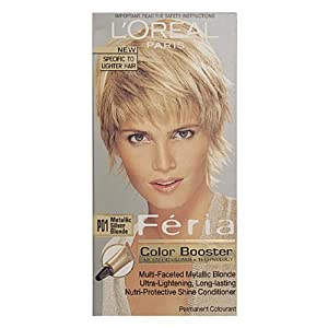 L39Oreal Feria Permanent Hair Colour P01 Metallic Silver Blonde Amazon