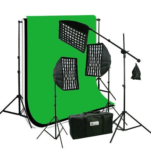 ePhoto 3 x Premium HoneyComb Softbox Photography
