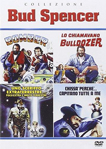 Collezione  Bud Spencer - Bomber/ Lo Chiamavano Bulldozer /Chissà Perché Capitano Tutte a Me / Uno Sceriffo Extraterrestre... Poco Extra e Molto Terrestre (4 DVD)