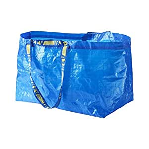 buy ikea large shopping bag blue online at low prices in. Black Bedroom Furniture Sets. Home Design Ideas