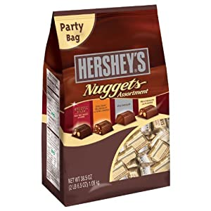 Hershey's Nuggets Chocolate Assortment, 38.5-Ounce Bag