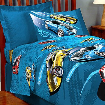 Sheet Amp Pillowcases Hot Wheels Twin Sheet Set