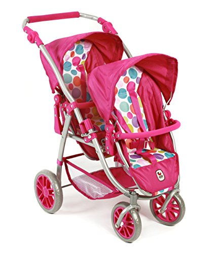 689 17 - Tandem-Buggy Vario, pinky Bubbles
