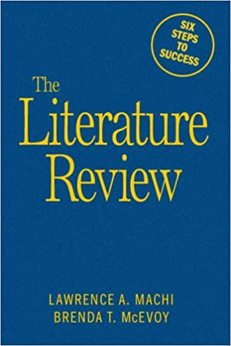 book cover: the literature review
