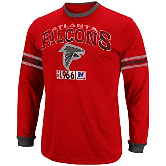 NFL Atlanta Falcons Victory Pride Long Sleeve T-Shirt - Red (XX-Large)