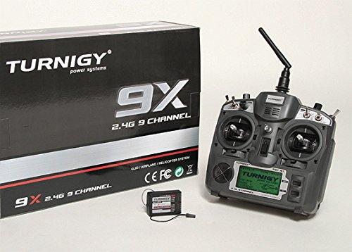 Turnigy 9X 9Ch Transmitter w/ Module & 8ch Receiver (Mode 2)