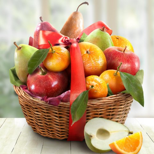 Christmas Favorites Fruit Basket Gift