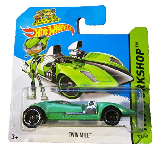 Hot Wheels - 2014 HW Workshop 221/250 - Twin Mill on Short Card