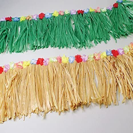 Natural Table Skirt Fringe Decoration by US (English Manual)