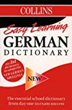 Collins Easy Learning German Dictionary (0004707125) by Unknown