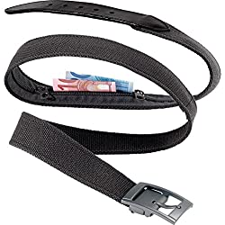 Go Travel Black Money Belt - (950)
