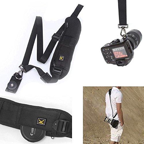 Amjimshop Vovotrade(Tm) Quick Rapid Single Shoulder Sling Belt Quick Strap For Dslr Digital Slr Camera