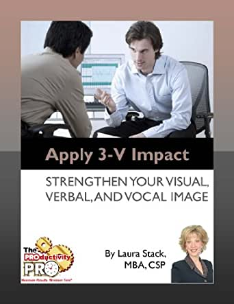 Apply 3-V Impact - Strengthen Your Visual, Verbal, and