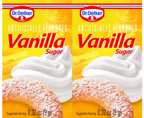 Dr. Oetker Vanilla Sugar, .32-Ounce (Pack of 12)